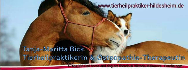 Tanja-Maritta Bick Tierheilpraktikerin